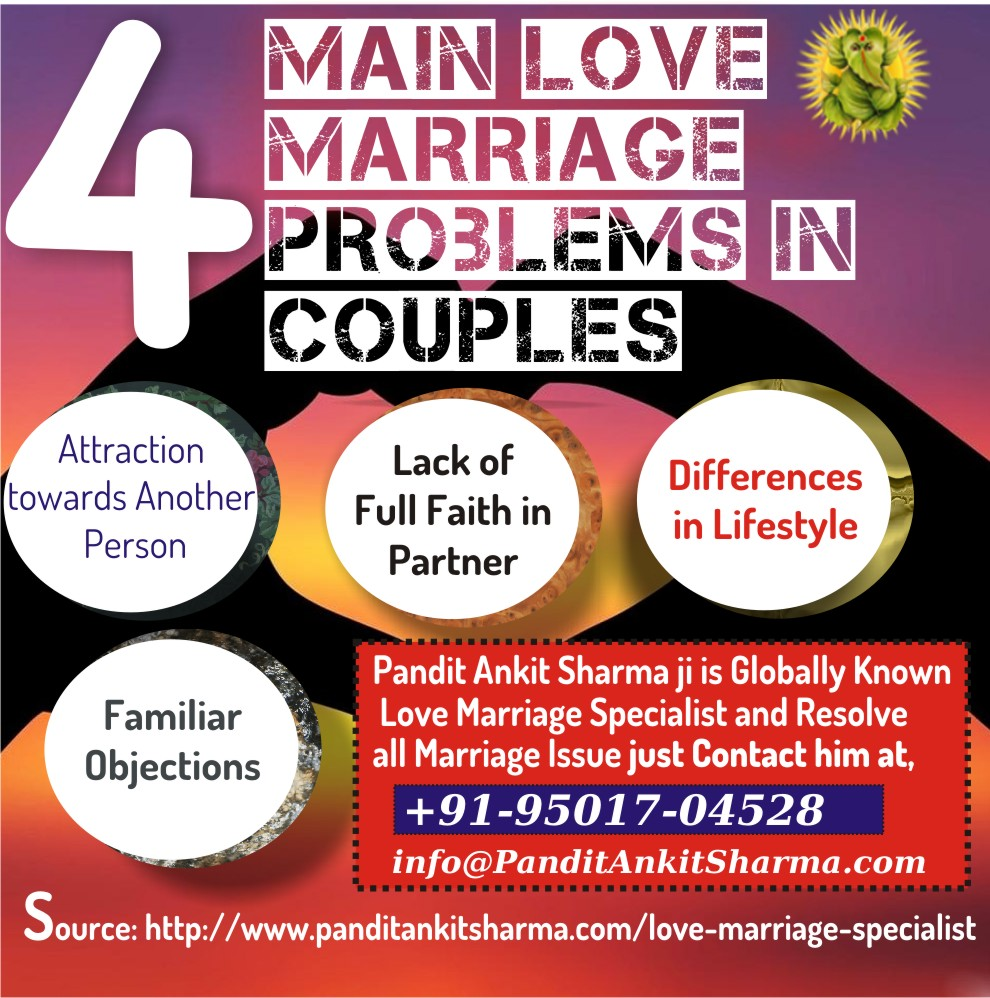 4 Main Love Marriage Problems in Couples