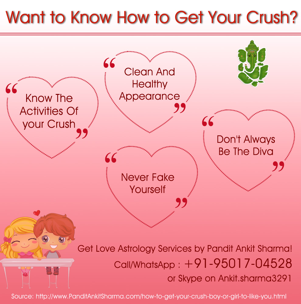 Want to Know How to Get Your Crush